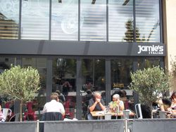 Jamie's Italian Restaurant, Cardiff, Wales, UK