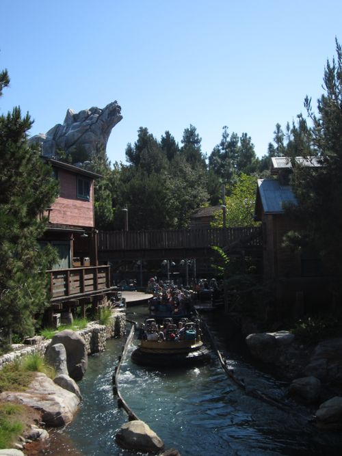 Grizzly Rapids at California Adventure